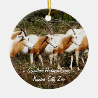 Ornamento de cuernos del Oryx del Scimitar Adornos