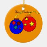 Ornamento de dos navidad de las bolas ornamento de reyes magos