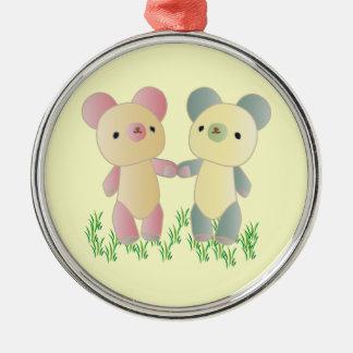 Ornamento de dos osos ornato