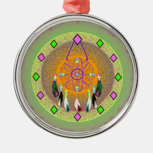 Ornamento de Dreamcatcher del nativo americano Ornatos