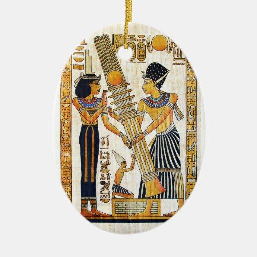 Ornamento de Egipto antiguo 1 Ornaments Para Arbol De Navidad