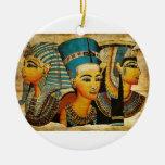 Ornamento de Egipto antiguo 3 Ornamentos De Navidad