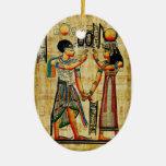 Ornamento de Egipto antiguo 5 Ornamentos De Navidad