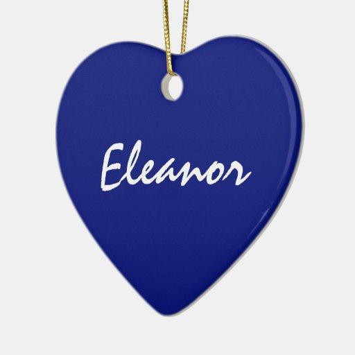 Ornamento de Eleanor Ornamentos Para Reyes Magos