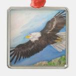 Ornamento de elevación de Eagle Ornamentos De Navidad