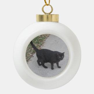 Ornamento de encargo de la foto del mascota adornos
