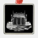 Ornamento de encargo del camión del retrovisor ornamentos de reyes magos