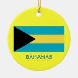 Ornamento de encargo del navidad de BAHAMAS Ornato