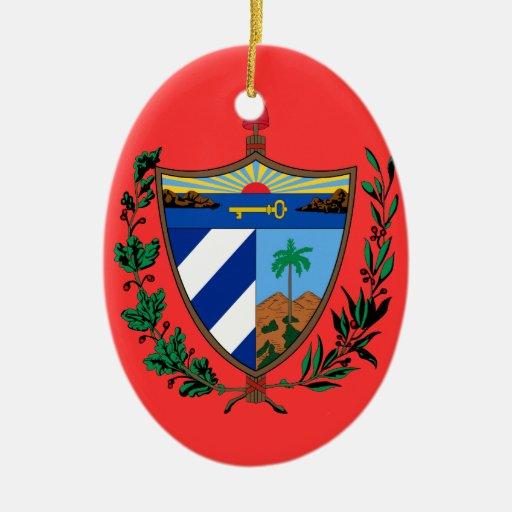 Ornamento de encargo del navidad de CUBA Adornos
