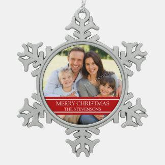 Ornamento de encargo del navidad de la familia de  adorno