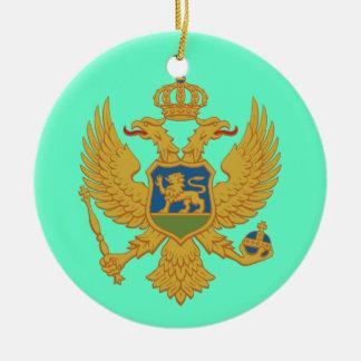 Ornamento de encargo del navidad de MONTENEGRO
