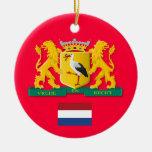 Ornamento de encargo del navidad de NETHERLANDS* Adorno De Navidad