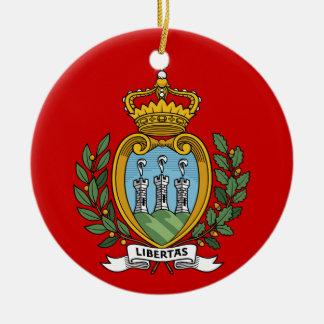 Ornamento de encargo del navidad de SAN MARINO Ornamentos De Reyes Magos