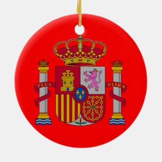 Ornamento de encargo del navidad de Spain