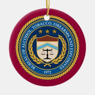 Ornamento de encargo del navidad del ATF Adornos