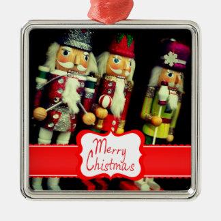Ornamento de encargo del navidad del cascanueces adorno de navidad