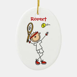 Ornamento de encargo del navidad del tenis ornamento para reyes magos