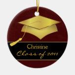 Ornamento de encargo del navidad - regalo de la adornos de navidad