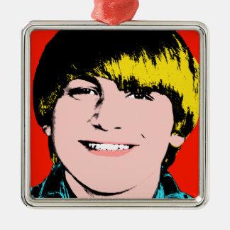Ornamento de encargo del recuerdo del arte pop del ornato