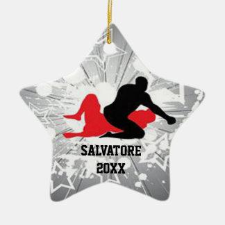 Ornamento de estallido del navidad de los luchador adornos