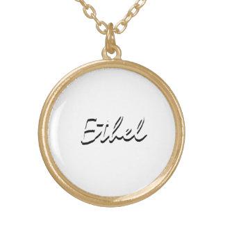 Ornamento de Ethel Colgante Redondo