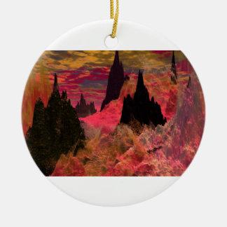 Ornamento de Flametongue Ornamento De Navidad