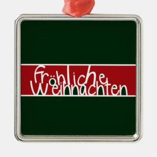 Ornamento de Frohliche Weihnachten Adornos De Navidad