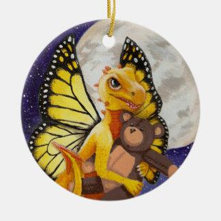 Ornamento de hadas de la diversión del dragón del
