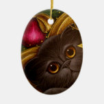Ornamento DE HADAS del CAT PERSA del DÍA DE FIESTA Ornamentos Para Reyes Magos