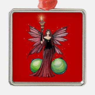 Ornamento de hadas del navidad de Yule Adornos De Navidad