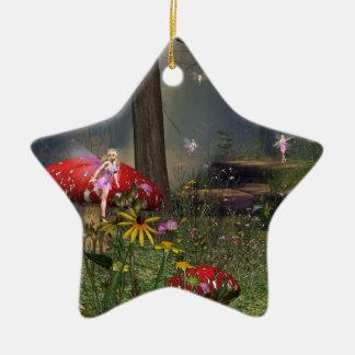 ornamento de hadas del navidad del bosque ornamento de reyes magos