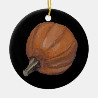 Ornamento de Halloween de la calabaza Adorno Navideño Redondo De Cerámica
