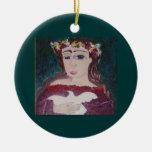 Ornamento de Isabel Adorno De Navidad