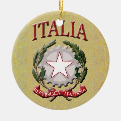 Ornamento de Italia Ornamento De Navidad
