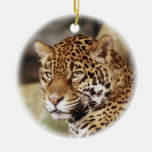 Ornamento de Jaguar Ornamento Para Arbol De Navidad