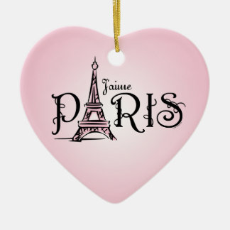 Ornamento de J'aime París Adorno De Reyes
