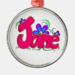 """Ornamento de """"Jane"""" Ornamente De Reyes"""