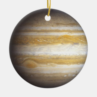 Ornamento de Júpiter Adorno Navideño Redondo De Cerámica