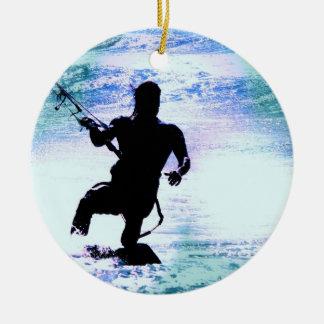 Ornamento de Kiteboarding Ornaments Para Arbol De Navidad