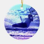 Ornamento de Kitesurfing Ornamentos Para Reyes Magos