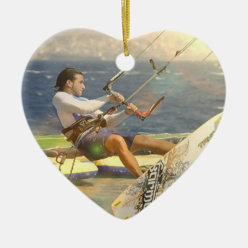 Ornamento de Kitesurfing Ornamente De Reyes