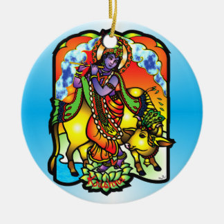 Ornamento de Krishna Adornos