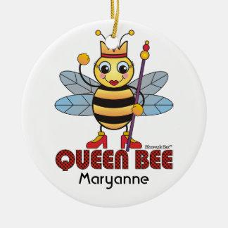 Ornamento de la abeja reina ornato