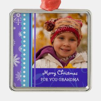 Ornamento de la abuela de las Felices Navidad de l Ornamento Para Reyes Magos