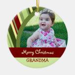 Ornamento de la abuela de las Felices Navidad de l Ornamentos De Reyes Magos