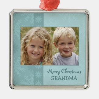 Ornamento de la abuela de las Felices Navidad de l Adorno