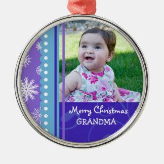 Ornamento de la abuela de las Felices Navidad de l Ornamento De Navidad