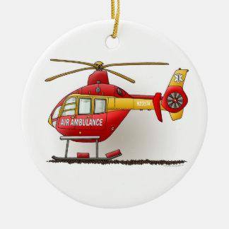 Ornamento de la ambulancia aérea de la ambulancia  adorno de navidad