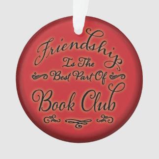 Ornamento de la amistad del círculo de lectores