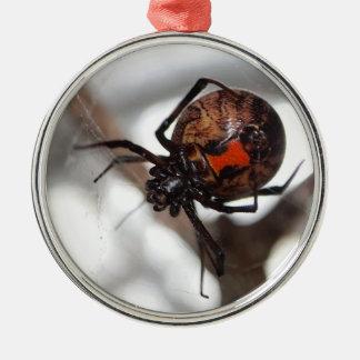 Ornamento de la araña de la viuda de Brown Adornos